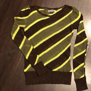 Volcom Striped Sweater, Striped long sleeve shirt